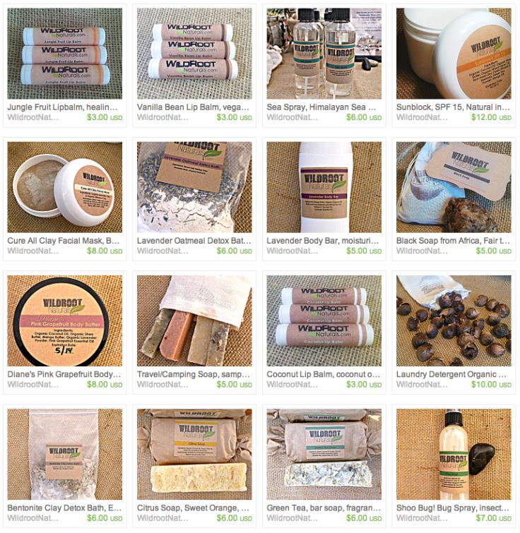 Wildroot Naturals Online Store